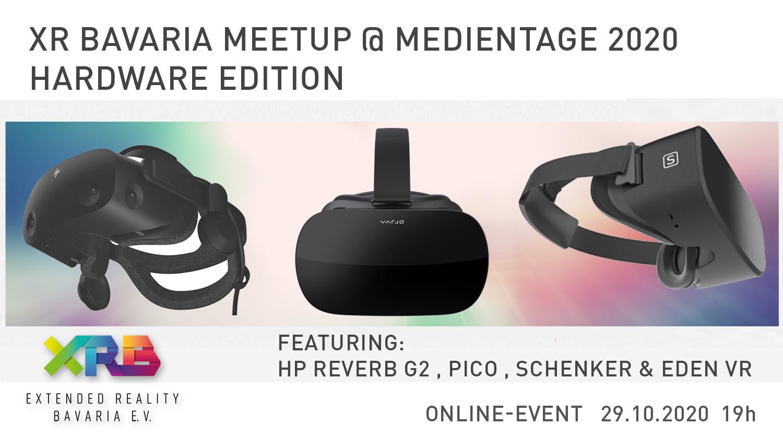 XR Bavaria Meetup @ Medientage München - Hardware Edition